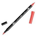 Feutre double pointe ABT Dual Brush Pen - 845 - Carmin