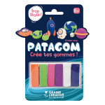 Gomme à modeler Patagom Kit Cosmos 6 x 25 g