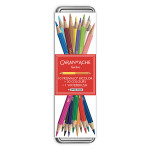 Crayon de couleur aquarellables Prismalo Bicolore 10 pcs