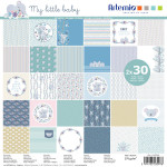 Assortiment de 60 papiers My Little Baby