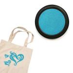Izink textile - Tampon encreur - Turquoise pastel