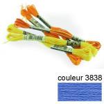 DMC 117 mouliné, fils à broder - couleur 3838