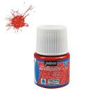 Peinture textile Setacolor pailletés tissus clairs 45 ml - 203 - Rubis
