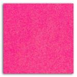 Tissu GLITTER thermocollant pailleté A4 - Fluo rose