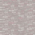 Papier Décopatch  30 x 40 cm 686 mot d'amour