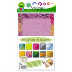 Plaque de texture - numéros 2 - Lot de 10