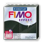 Pâte polymère Fimo Effect 56g - 907 - Noir perle