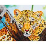 Broderie Diamant kit intermédiaire Le regard du léopard