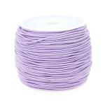 Fil élastique guipé 1mm par 28m - Violet