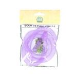 Tube en résille - Violet - 60 cm x 8 mm