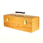 Boite de rangement en bois 13x36x12 cm