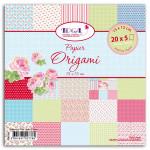 Papier origami 100 feuilles 15 x 15 cm Mademoiselle