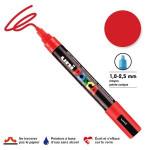 Marqueur PC-5M pointe conique moyenne - Rouge