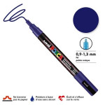 Marqueur PC-3M pointe conique fine - Bleu foncé