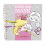 Carnet de coloriage Graffy pop mask - Filles