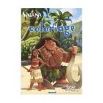 Livre de coloriage Disney - Vaiana coloriage avec stickers