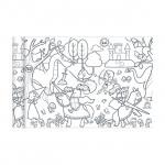 Coloriage en rouleau Princesses et Chevaliers 35 cm x 5 m