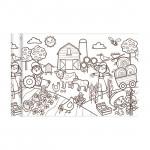 Coloriage en rouleau Le petit monde agricole 35 cm x 5 m