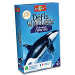 Jeu de cartes Défis nature Animaux marins