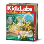 Coffret scientifique Kidzlabs L'atelier à bulles