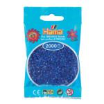 Perle à repasser Mini 2000 pièces - Bleu foncé