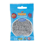 Perle à repasser Mini 2000 pièces - Gris clair