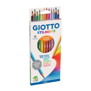 Crayon de couleur Stilnovo par 12