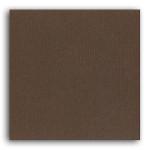 Papier Uni 30,5 x 30,5 cm - Marron
