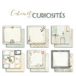Papier Cabinets de curiosités 30,5 x 30,5 cm - 6 feuilles