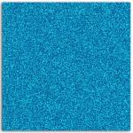 Papier adhésif pailleté bleu fluo 30x30cm