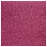 Papier pailleté rose œillet 30x30cm