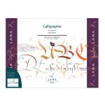 Bloc de papier Calligraphie Lana 250 g/m² 12 fles - 30 x 40 cm