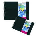 Carnet Layout couverture rigide - 80 g/m² - 75 feuilles - 21 x 29,7 cm (A4)