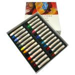 Boîte pastels à l'huile 24 couleurs universelles