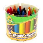 Kit de 24 craies Crayola pour tableau noir ou ardoise avec brosse