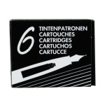 Boîte de 6 cartouches noires courtes