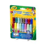 Mini colles pailletées lavables - 16 pcs
