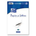 Papier à lettre blanc A5 100 p 80 g/m²