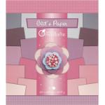 Papier pailleté Glit's Paper 18 nuances de violet - rose 200 g/m²