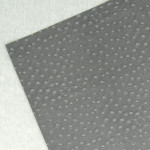 Papier Autruche simili Cuir 50 x 70 cm 230 g/m² - Gris