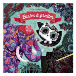 Pochette Mes créations : Carte à gratter Animaux du monde