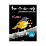 Livre Autocollants créatifs Oiseaux