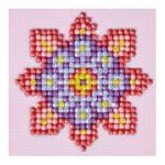 Broderie Diamant kit débutant Mandala Fleur 2