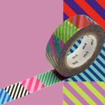 Masking Tape x Artist Kapitza Multistripe 15 mm x 10 m