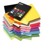 Papier imprimé double face A4 21 x 29,7 cm 100 g/m² 160 feuilles