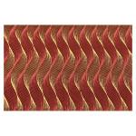 Papier indien 50 x 70 cm 120 g/m² Dune Rouge & Or