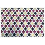 Papier indien 50 x 70 cm 120 g/m² Noir & Rose