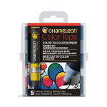 Embout Color Tops pour marqueur Chameleon 5 tons Primaires