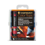 Embout Color Tops pour marqueur Chameleon 5 tons Chauds