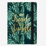 Carnet medium ligné jungle